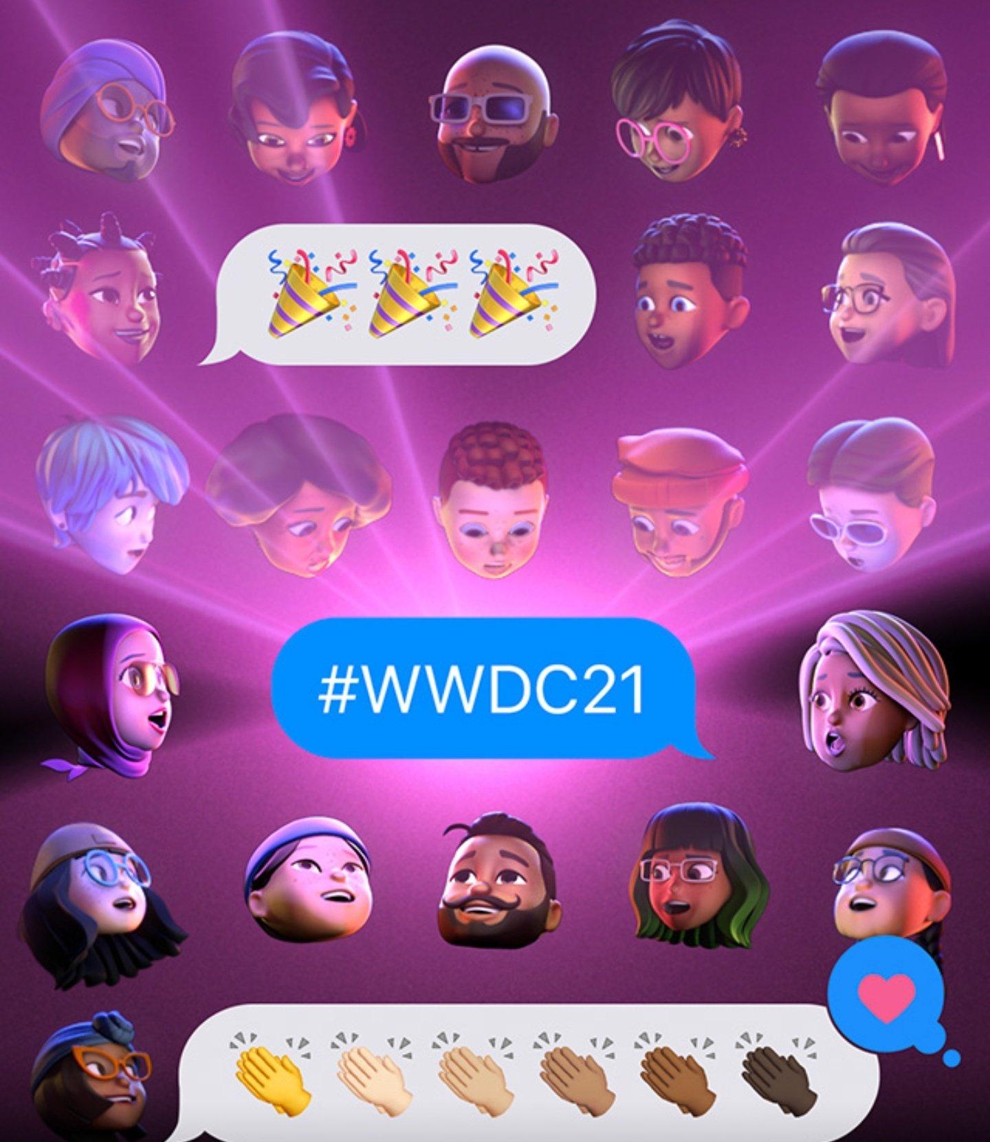 Re-watch the WWDC 2021 by Apple